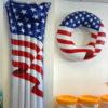 Inflatable-pool-raft-and-tube-american-flag