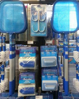 Swimline-HydroTools-pool-skimmers-brushes-scrubbers