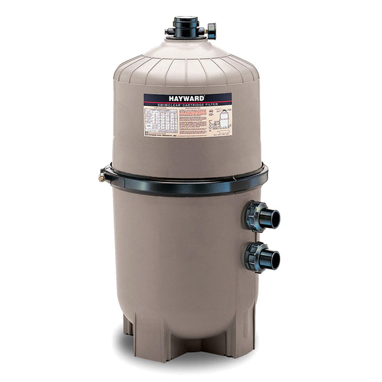 Hayward pro grid de pool filter sweetwater swimming pool for Pool heater and filter
